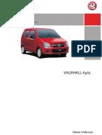 Agila Owners Manual 2006