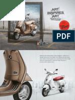 Vespa Elegante Limited Edition Brochure