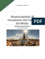 Shantarakshita El Ornamento Del Camino Del Medio.