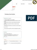 Primitives d'une fonction en Terminale S.pdf