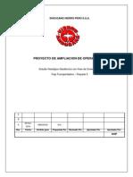 Informe Geológico Geotécnico Proyecto Faja Transportadora. Paquete 5