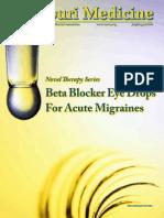 Beta Blocker for Migraines JulyAug2014 MoMed