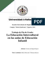 Educ.intercultural en Ed.infantil