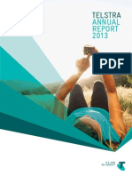 Telstra Annual Report 2013