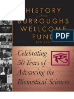 History of the Burroughs Wellcome Fund 1955-2005