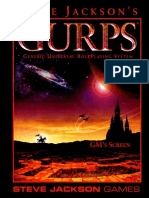 GURPS - 4th Edition - Gm's Screen