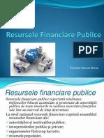 Resurse financiare publice