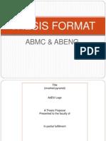 Thesis Format.quantitative