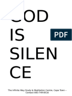 God is Silence - Pierre Lacout