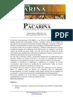 Revista Pacarina . Política