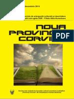 Noua Provincia Corvina Nr. 68 - Decembrie 2014