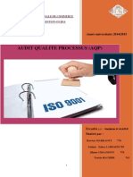 Audit Qualite Processus