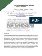 Minería de Datos Con Redes Neuronales Artificiales - Aplicacion en Vacunas Tuberculosis