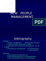 New People Management