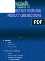 Product Mix&Line Decisions