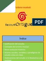(Entregar) Turismo Musical- Festival de Ortigueira