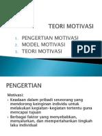 teori motivasi