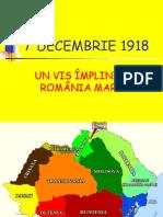 1 Decem Brie 1918