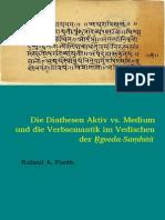 Pooth.2014.Die Diathesen Aktiv vs. Medium Und Die Verbsemantik Im Vedischen Der Rigveda-Samhita