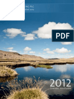 Hochschild Reporte Sostenibilidad 2012
