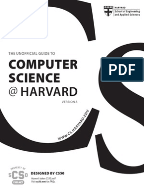 Unofficial Guide to CS at Harvard | Computer Science