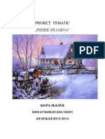 Proiect Tematic Iarna[1