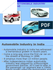 The Indian Automobile Industry