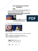Evaluating the Airway for Difficult Intubation