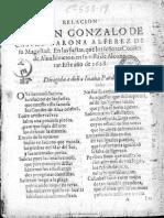 Relacion de don Gonzalo de Castro Verona