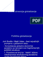 Nacionalna država u uslovima globalizacije, Politička dimenzija globalizacije.ppt