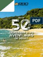 eBook 50 Dicas Para Suas Aventuras de Verao