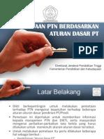 Presentasi Prodi Sesuai Standar Pt