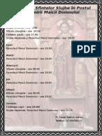 Program Biserica 2