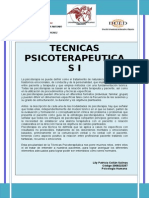 Tecnicas Psicoterapeuticas i