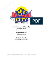 Rhythm City Libretto & Vocal Book
