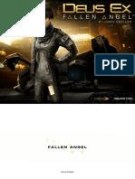DX DC FallenAngel Layout Scarf