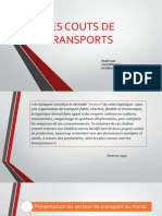 Gestion du transport
