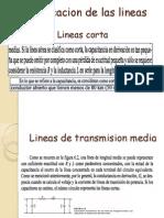 Clasificacion de Lass Lineas de Transmision
