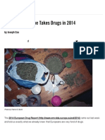 This is How Europe Takes Drugs in 2014