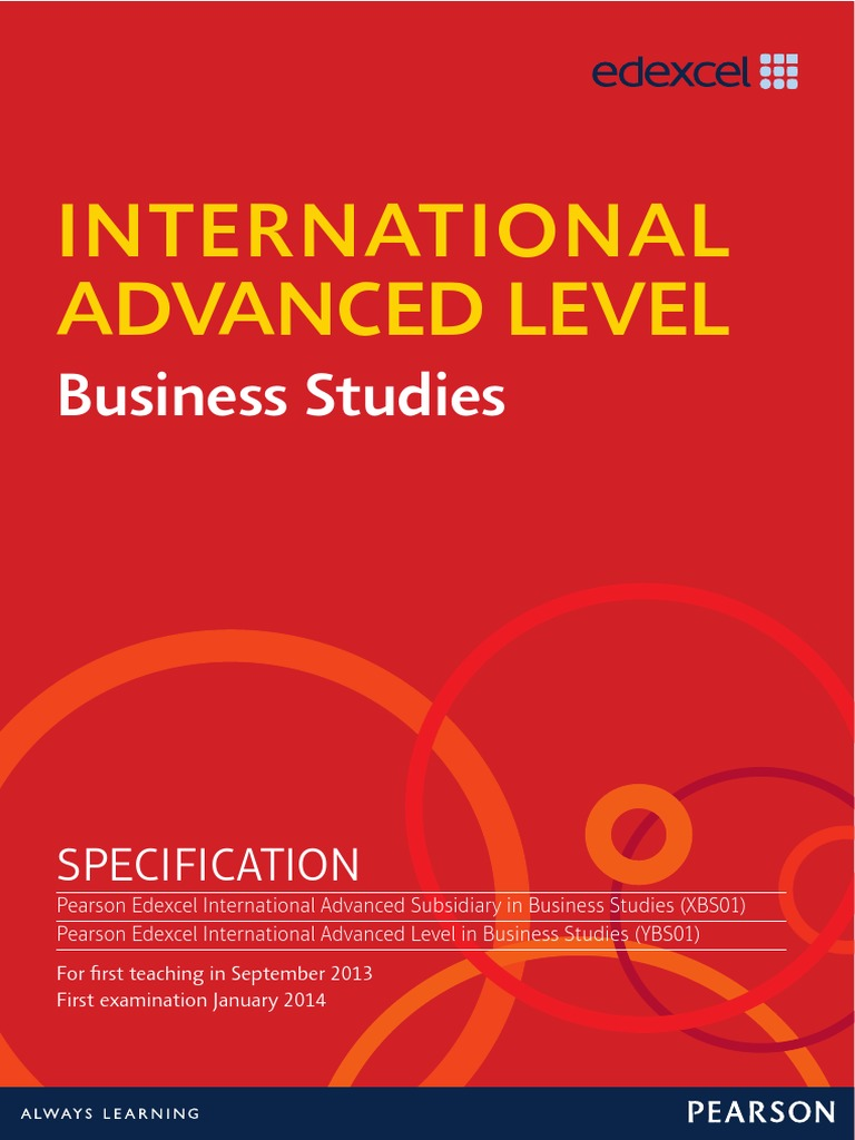 Ial business gce advanced level united kingdom strategic ial business gce advanced level united kingdom strategic management fandeluxe Choice Image