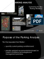 Downtown Parking Analysis and Parking Recommendations WALKER PARKING CONSULTANTS 11-04-13