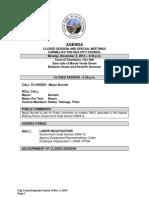 National Parking & Valet Ocean Avenue Pilot Program 11-03-14