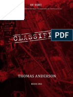 Thomas Anderson Classified - Book One (R - Anderson, Thomas