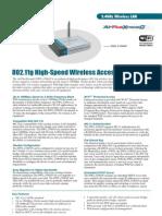 DWL 2100AP Informacion Tecnica
