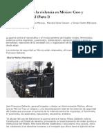 Muñoz- Muncao - Un Acercamiento a La Violencia en México. Caos y Organización Social