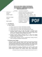 KAK Kelanjutan Pembangunan RS Bergerak 2014