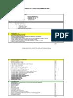 Schema Simplificata Concept de Lucru Audit Financiar 2009