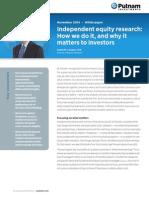Putnam Research