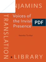 Voices of the Invisible Presence, Diplomatic Interpreters in Post-World War II Japan (Benjamins Translation Library, EST Subseries)