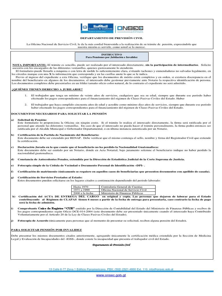 2. Formularioinstructivojub Inv Pc20 Escolaridad 2013